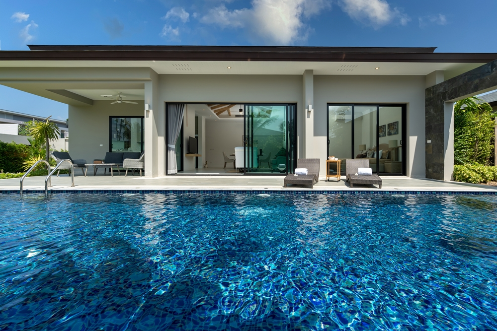 Peykaa Estate Unti 214 Modern 3 Bedroom Pool Villa for Sale in Layan, Phuket