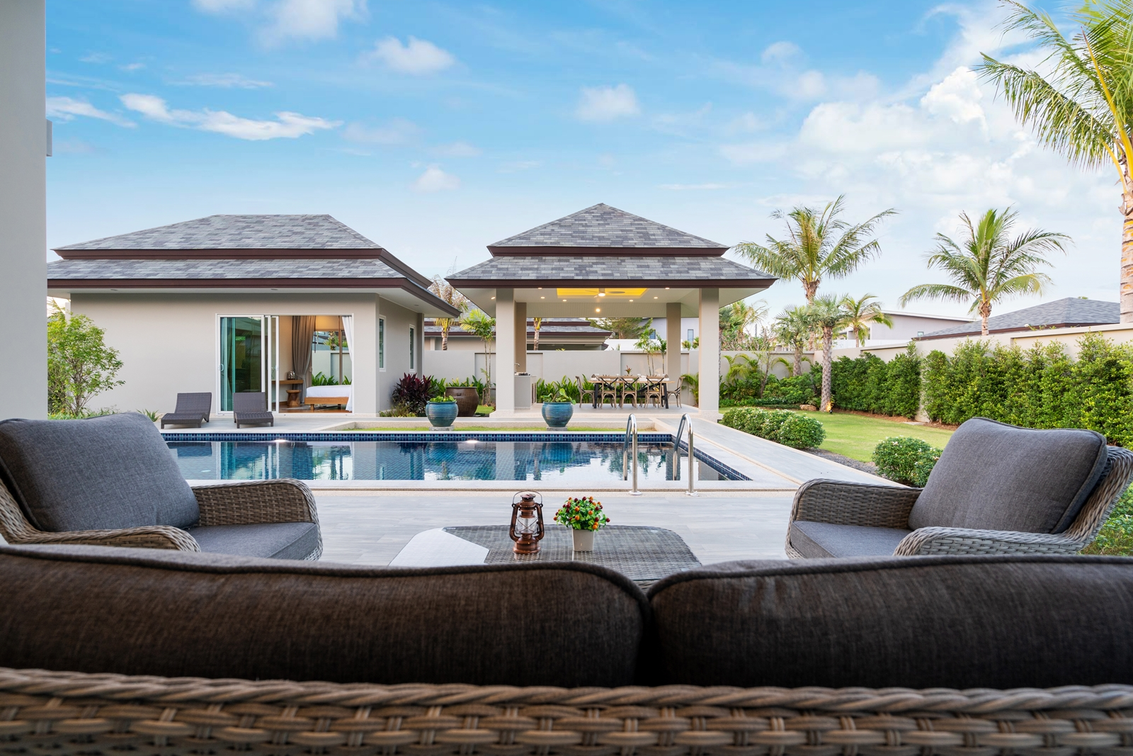 Peykaa Estate Unti 209 Modern 4 Bedroom Pool Villa for Sale in Layan, Phuket